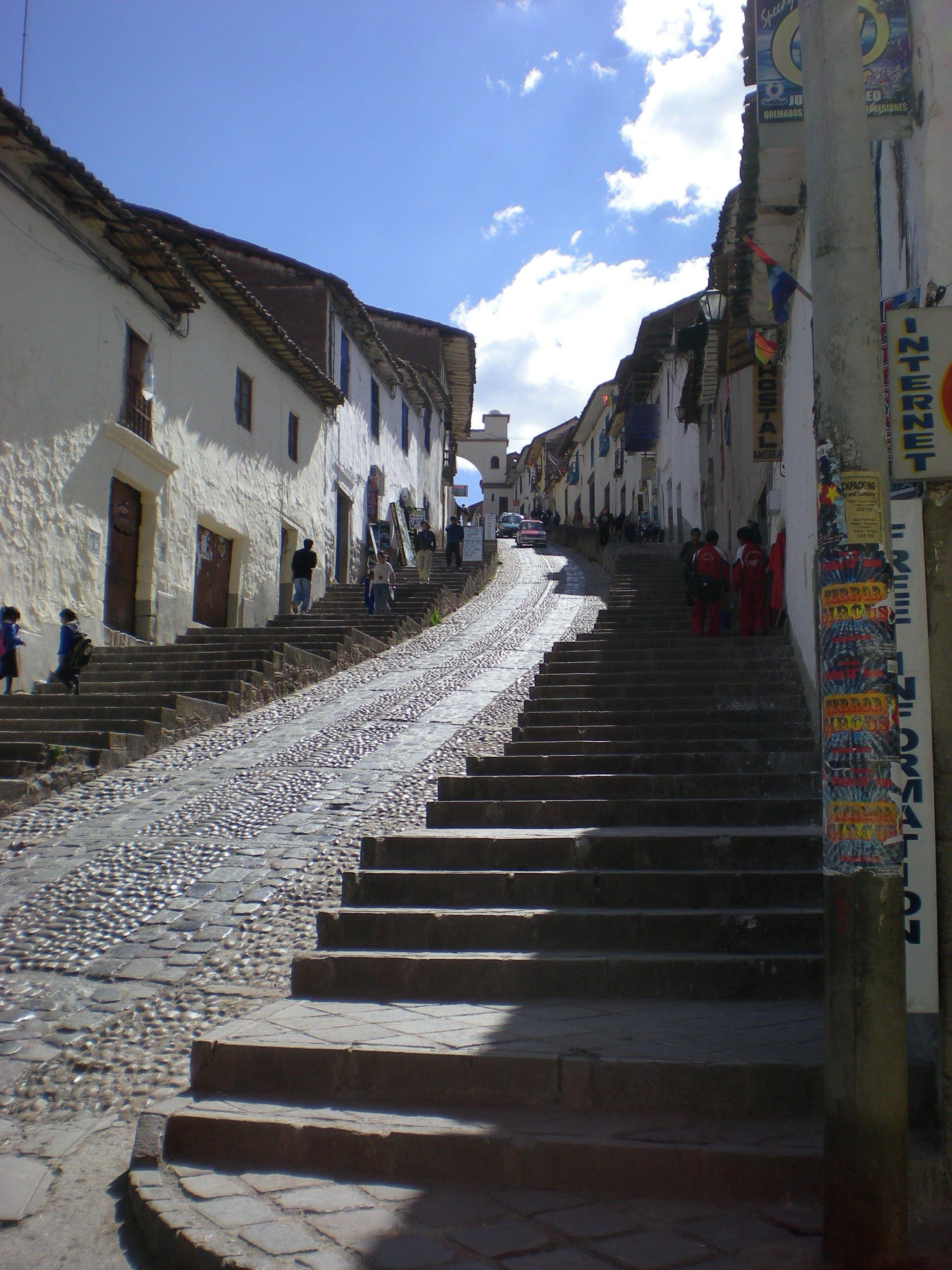 Une rue à Cuzco
